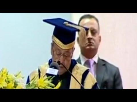 President Pranab Mukherjee Attends Army Dental College Convocation Ceremony