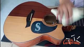 Thay Lược Và Vệ Sinh Đàn Guitar Cho Khách Hàng - Guitarine