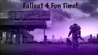 Fallout 4 Fun time! Exploring/Battling Come join! :)
