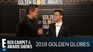 "Rami Malek ""Over the Moon"" With Golden Globe Win 