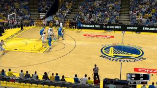 NBA 2K14 Gameplay - Dallas Mavericks vs Golden State Warriors Full Game