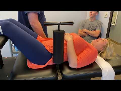 First Time Ring Dinger® Experience For Houston Lady At Advanced Chiropractic Relief In Houston Texas