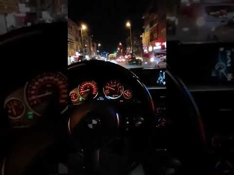 BMW Araba Snap Gece
