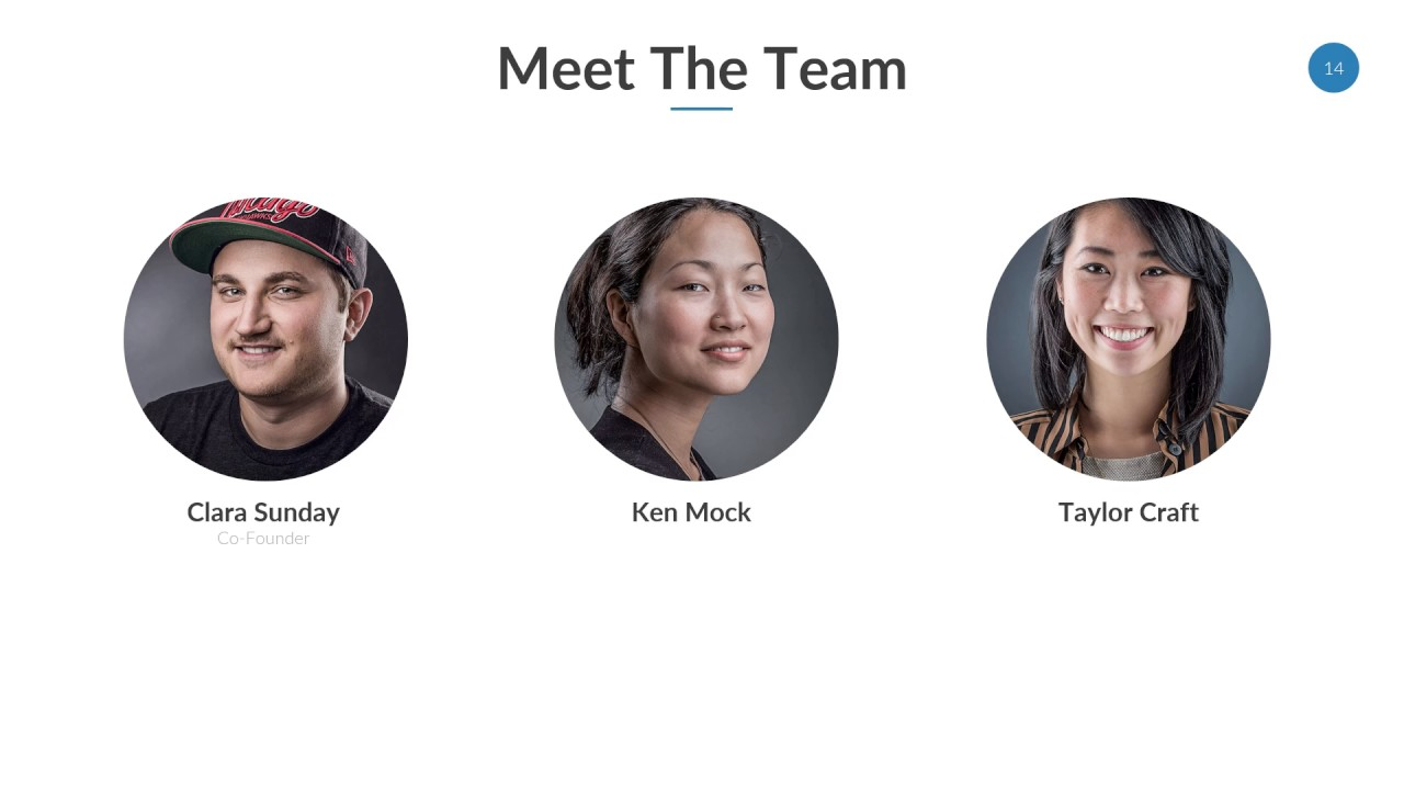 team profile powerpoint template youtube
