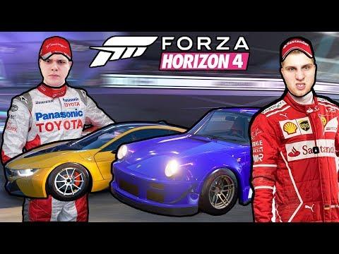 УСТРОИЛИ Б/У БАТТЛ В ФОРЗЕ!  ЭТО ЭПИЧНО! - Forza Horizon 4 thumbnail