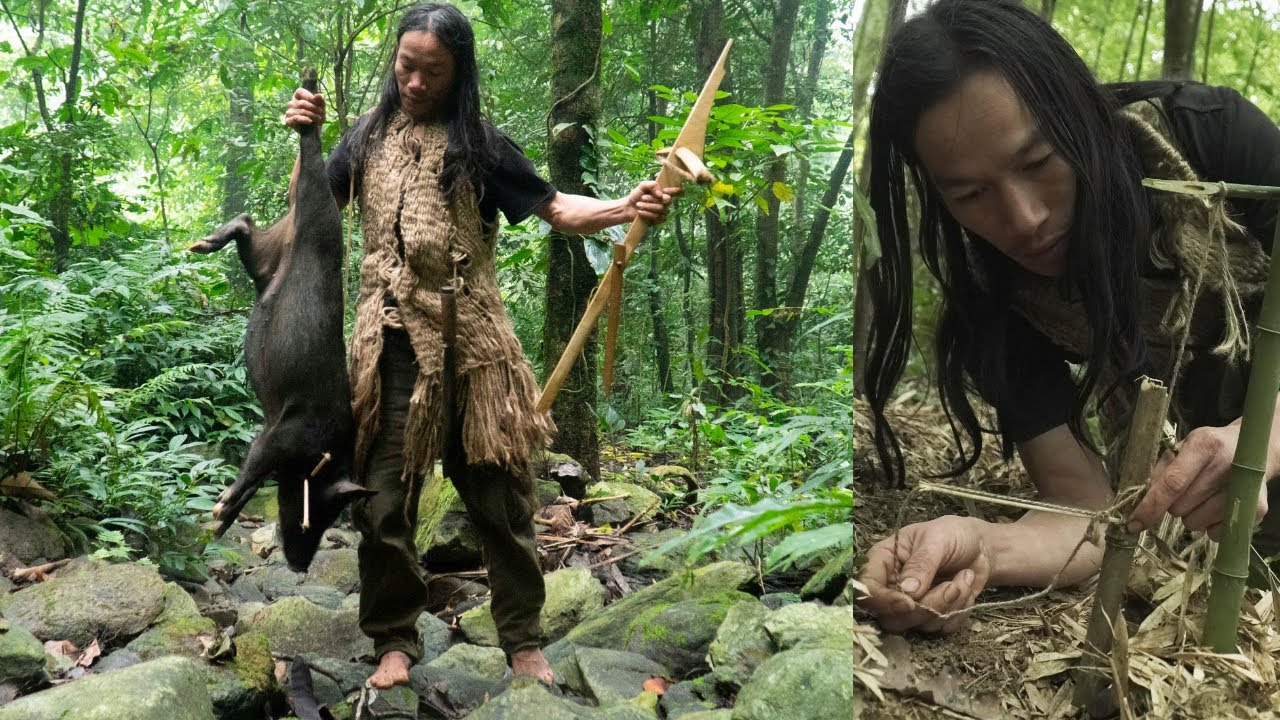 Download Survival Instinct - The 6 Month Survival Challenge In The Jungle - part 8