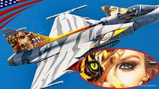 "JAS-39 Gripen ""Wildcat Women"" Painting Jet - Czech Air Force 9241"