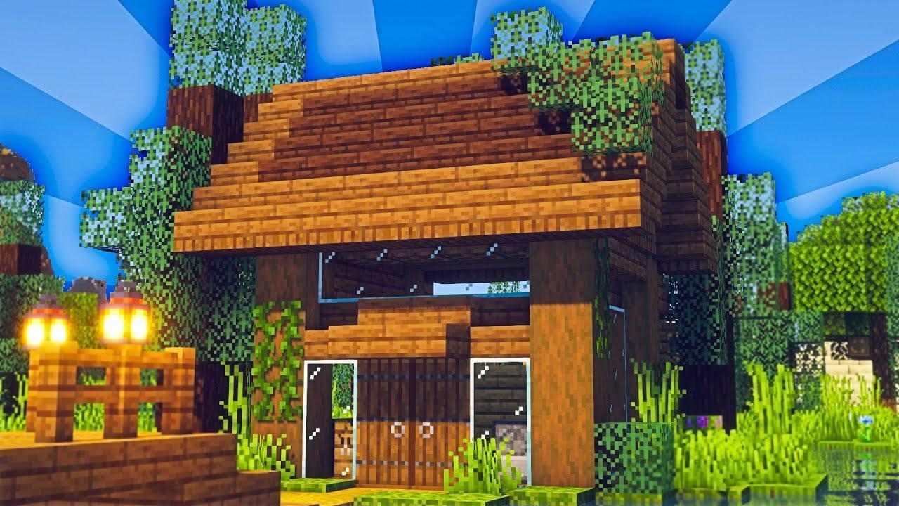 Minecraft Timelapse: Lake House #Shorts
