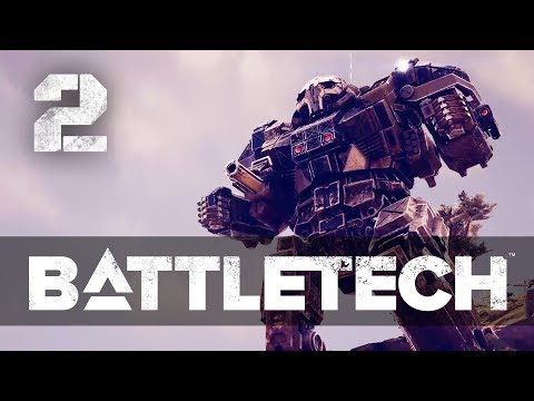 Yeah! We have a Merc crew now! ★ Battletech 2018 Campaign Playthrough  #2