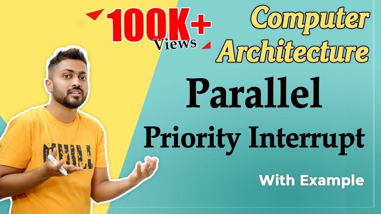 Parallel priority interrupt | I/O organization
