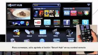 Cómo usar Samsung Apps en el Samsung Smart TV