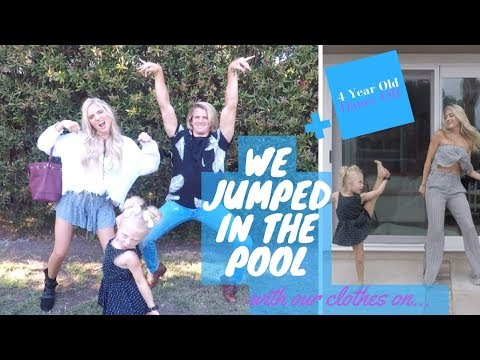 Labrants +Soutas family day! Beauty Con + Jojo Siwa + 4 year old dance off + Pool with clothes on!