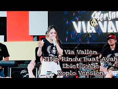 Via Vallen - Titip Rindu Buat Ayah ( Ebiet G ) edisi Anniversary vyanisTy ke 8 tahun