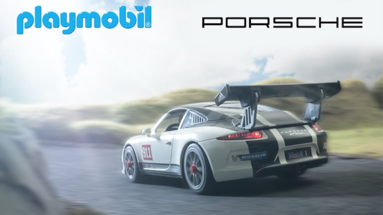 playmobil porsche 911 gt3 cup film youtube. Black Bedroom Furniture Sets. Home Design Ideas