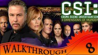 CSI 3 Dimensions Of Murders - Walkthrough #8 | Case Five