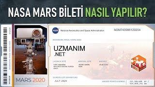 NASA 2020 roketine isim yazma | NASA mars bileti nasıl yapılır?