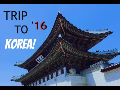 SEOUL KOREA TRAVEL VLOG! (SUMMER 2016)