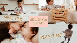 DAY IN THE LIFE OF A 1 YEAR OLD | schedule, meals, playtime and more!