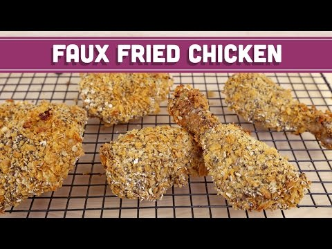 "Healthy Baked ""Fried"" Chicken - Mind Over Munch"