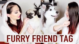 FURRY FRIEND TAG & UNBOXING