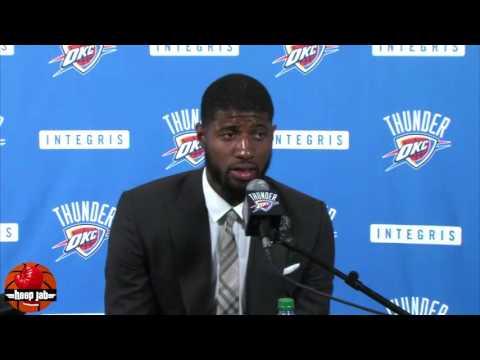 Paul George On The Kevin Durant vs Russell Westbrook Beef. HoopJab NBA