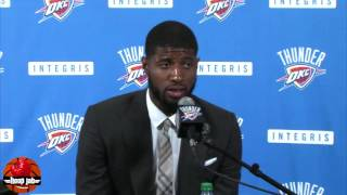 Paul George On The Kevin Durant vs Russell Westbrook Beef. HoopJab NBA