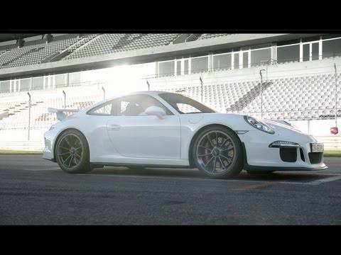 The new Porsche 911 GT3: First official driving shots