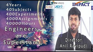 Anil Ravipudi  Writer & Director at OPEN MINDS 2018