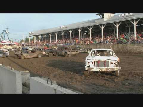 BUREAU COUNTY FULL SIZE WIRE DEMOLITION DERBY