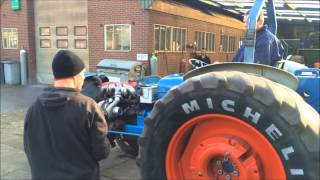 Turbo test for tractorpulling...