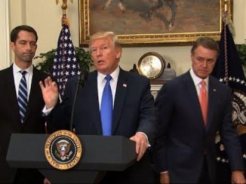 Trump Touts Dow Record High