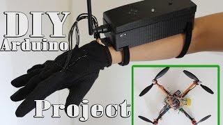 building arduino one hand transmitter for quadcopter code schematics