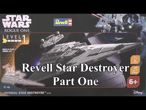 Revell Star Destroyer Part One