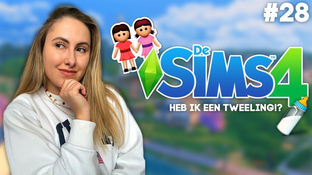 BEVALLEN.. Heb ik EINDELIJK een TWEELING? 😱 - De Sims 4 - Deel 28