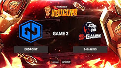 [EN] Endpoint vs S-Gaming | Map 2: Train | BO3 | Hellcase Cup 8 Group А