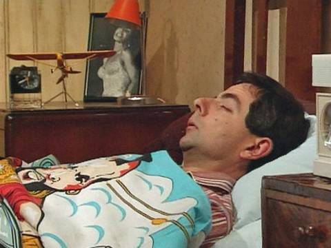 Alarm clock and getting up | Mr Bean Official