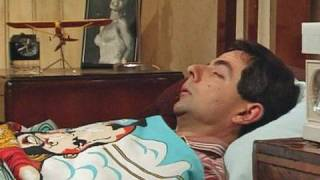 Alarm clock and getting up | Mr. Bean Official