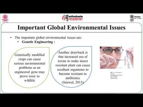 Contemporary environmental issues and debates