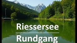 Rundgang um den Riessersee