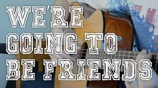 We're Going To Be Friends Guitar Tutorial | The White Stripes Fingerpicking Guitar Lesson