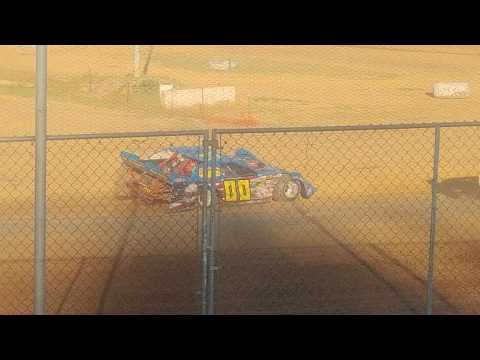 6 24 17 late model heat coos bay speedway