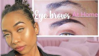 How I WAX My Eyebrows At Home (Quarantine Edition)