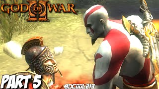 GOD OF WAR 2 GAMEPLAY WALKTHROUGH PART 5 EURYALE BOSS FIGHT - PS3 LET'S PLAY