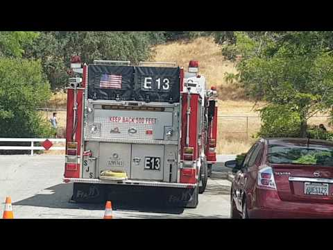 Vargas and Recife Way San Jose park fire