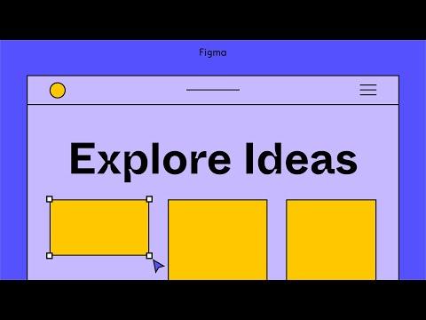 Figma For Beginners: Explore ideas (1/4)