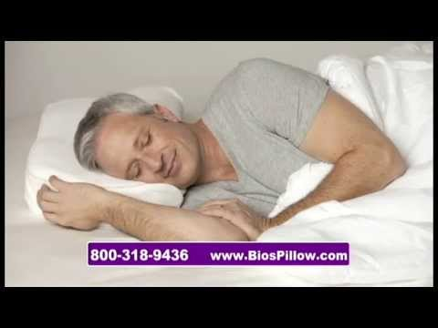 bios anti snore pillow youtube. Black Bedroom Furniture Sets. Home Design Ideas