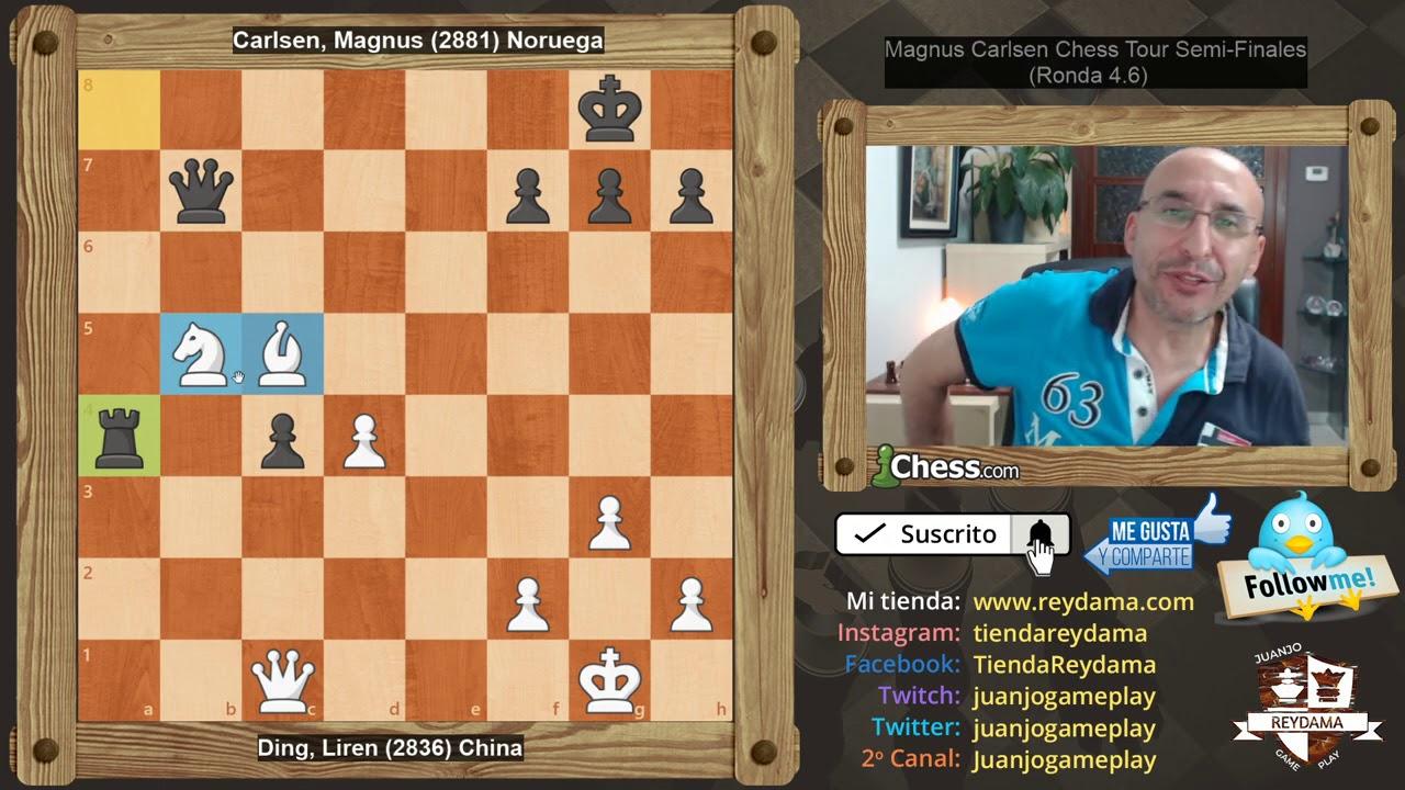 MAGNUS CARLSEN Y HIKARU NAKAMURA A LA FINAL del Magnus Carlsen Chess Tour