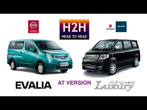 Hh  Nissan Evalia Vs Suzuki Apv