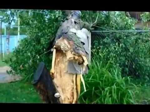 Ураган-смерч в Нижнее-Мальцево ,Рязанской области!