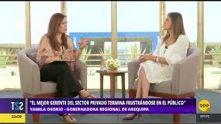 Todo Se Sabe│CADE 2017: Entrevista a Yamila Osorio, gobernadora de Arequipa